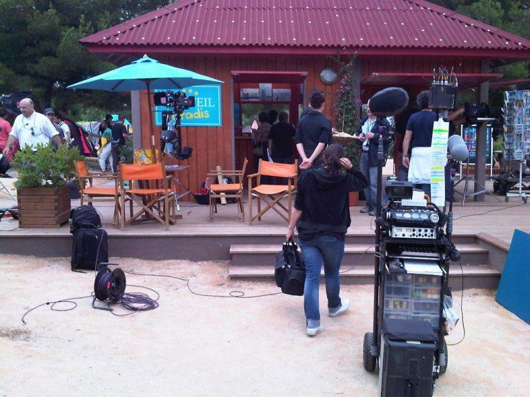 camping tournage