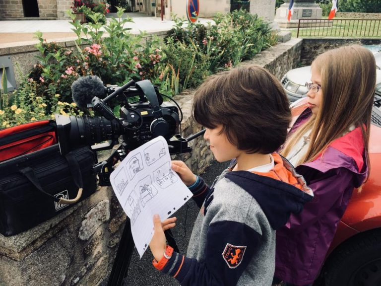 tournage films enfant amuz scenario